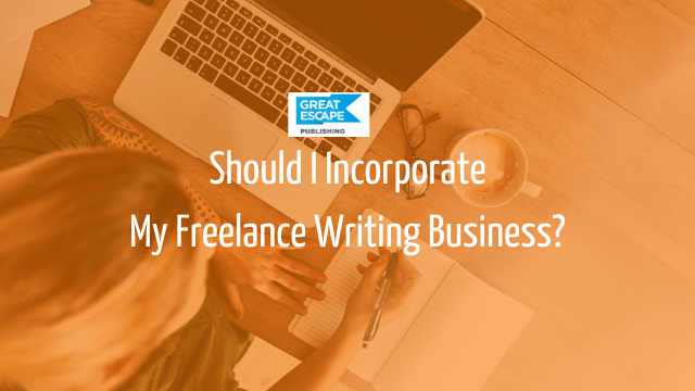 incorporate writing business