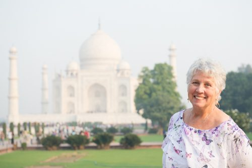 India Travel Writing Expedition - Attendee Taj Mahal