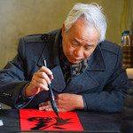 Vietnam Photography Expedition - people photos - Calligraphy Susan Hoffman
