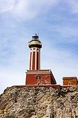 Alamy stock photo lighthouse in Italy