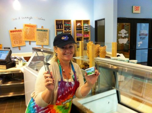 Ben & Jerry's ice cream Vermont