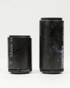 Since it's so cheap to make a macro lens, it's good to make a number of sizes for your photo needs