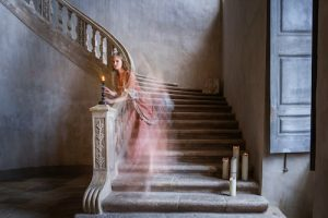 Creating a ghost photo is fun -- and can sell well on stock photo sites