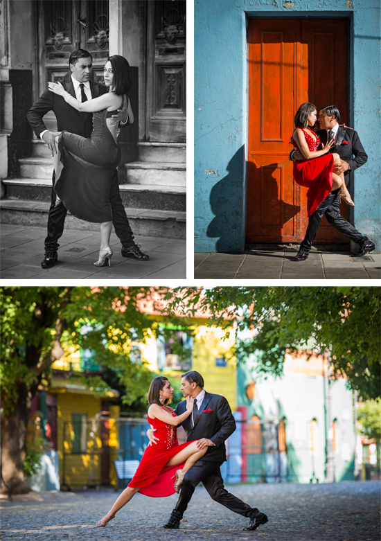 stock photo of two tango dancers