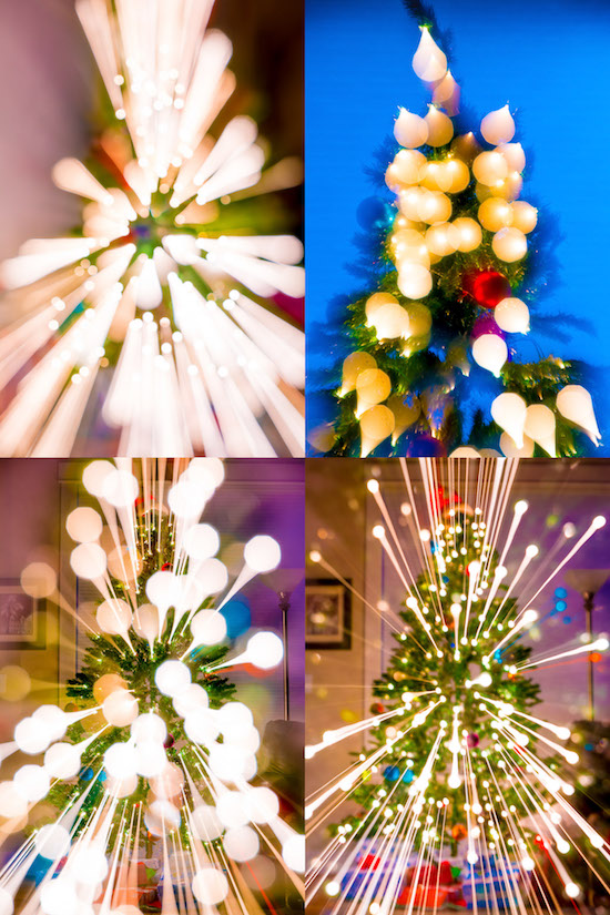 You can easily create abstract holiday images like these...