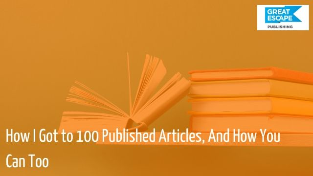 how to get published 100 times
