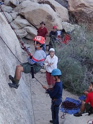 joshua tree rock climbers