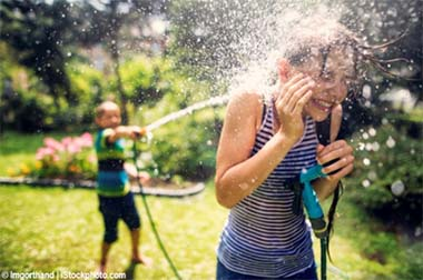 hose waterfight stock