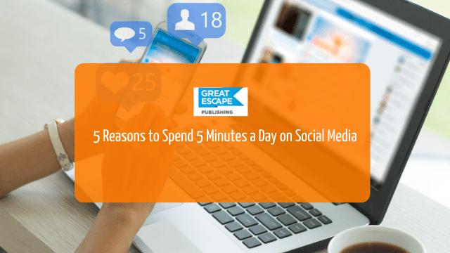 spend time on social media