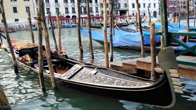 Gondolas - Venice Italy