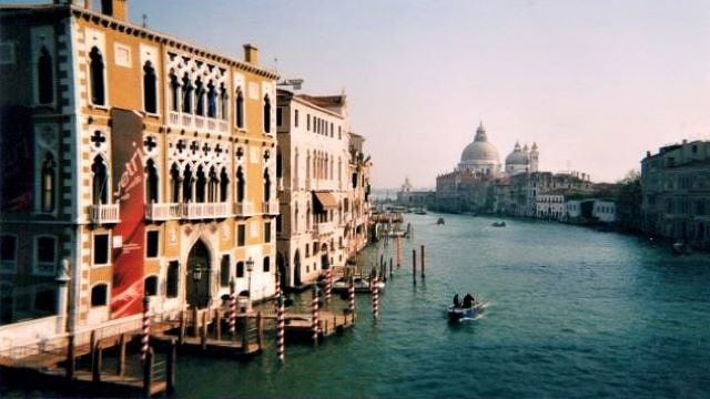 The Grand Canal - Venice Italy