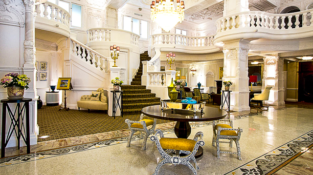 St Ermins Hotel lobby - London