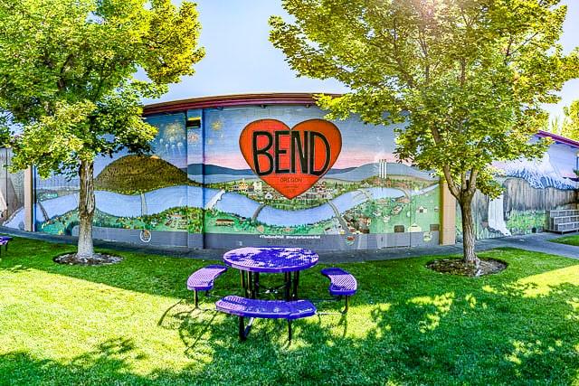 Bend Oregon Heart Mural
