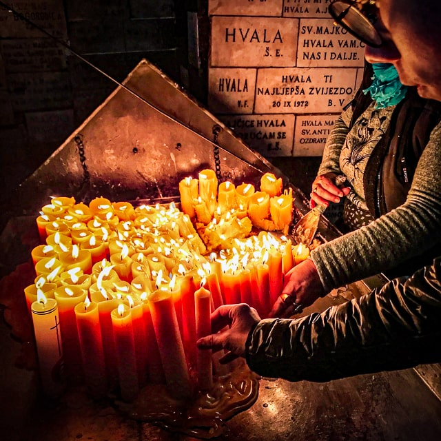 zagreb candle lighting