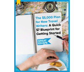 5k plan for travel writers