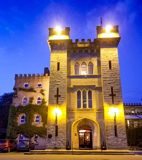 Cabra Castle Entrance