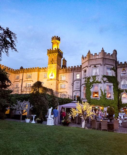 Cabra Castle Patio and Grounds, Cavan Ireland