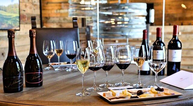 Fairmont Sonoma wine tasting