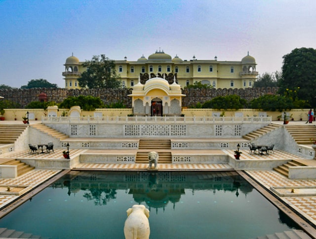 Nahargarh Palace Hotel pool