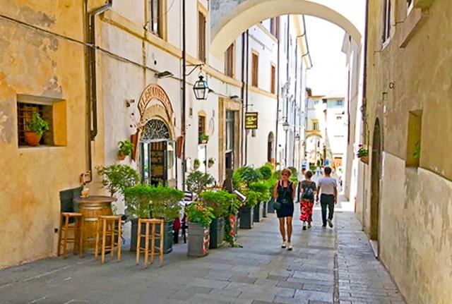 Spoleto Italy street