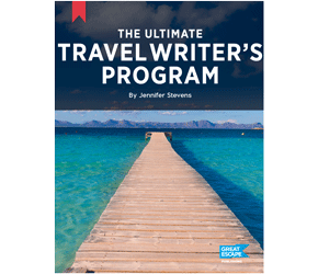 the ultimate travel writers program