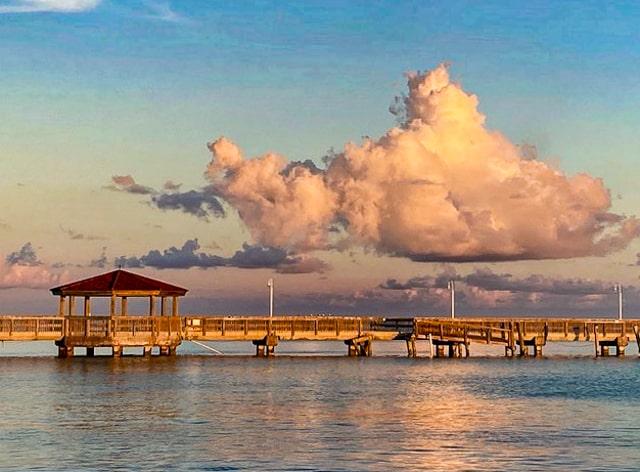 Louis' Backyard view - Key West