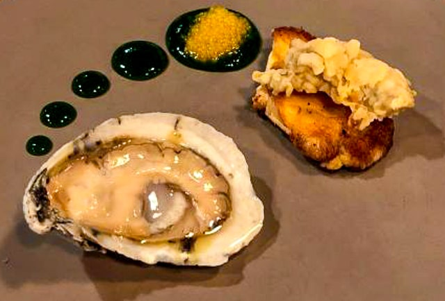 Oysters with Caviar - Mayberry NC