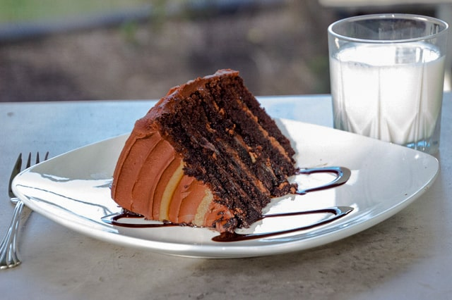 Salted Chocolate Caramel Cake