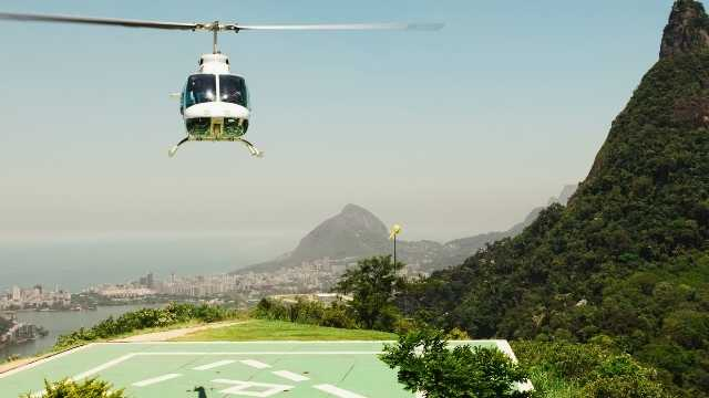 helicopter and travel writing