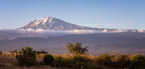 mountain range composition photography