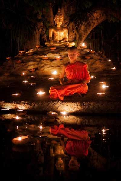 photo of monk