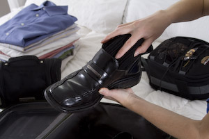 Packing Tip: Socks and Shoes